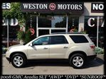 2008 GMC Acadia SLT*AWD*DVD*SUNROOF*LEATHER*QUAD SEATER in York, Ontario