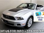 2011 Ford Mustang CONVERTIBLE 6-SPD MANUAL! LEATHER! Convertible in Guelph, Ontario