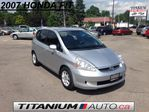 2007 Honda Fit A/C | Power Group | 5 Speed | Tinted Glass | Accident Free CarProof Verified in London, Ontario