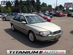 1999 Volvo S80 Sunroof / Moonroof | Heated Leaher Power Memory Seats | Keyless Entry | Auto Duel A/C Unit | Power Group | Loaded | CarProof Verified in London, Ontario
