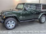 2010 Jeep Wrangler Unlimited 4WD SAHARA w/ TWO TOPS! AUTO! POWER PKG! 4x4 SUV in Guelph, Ontario