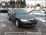 2004 Mazda MAZDA6 GT | Complete New Brakes | Keyless Entry | Power Group | Heated Leahter Power Seats | Fog Lights | Accident Free CarProof Verified in London, Ontario