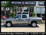 2009 Dodge Dakota SXT*CREW CAB*ACC FREE*FULLY LOADED*ALLOY WHEELS in York, Ontario