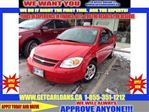 2007 Chevrolet Cobalt LS*COUPE*DUAL AIR BAGS*AIR CONDITIONING*AUTO-OFF HEADLIGHTS*FRONT DISC/REAR DRUM BRAKES*CD*REMOTE TRUNK RELEASE*TILT*BUCKET SEAT* in Cambridge, Ontario