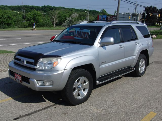 2004 toyota 4runner limited kitchener ontario used car. Black Bedroom Furniture Sets. Home Design Ideas