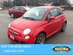 2012 Fiat 500 COME CHECK ME OUT!! in Hamilton, Ontario