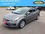 2013 Hyundai Elantra GL MODEL WITH ONLY 37, 000KMS!!! in Hamilton, Ontario