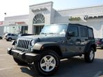 2014 Jeep Wrangler Unlimited Sport 4X4 MANUAL TINT GREAT VALUE MUST SEE in Thornhill, Ontario