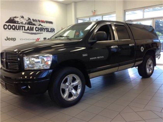 2007 dodge ram 1500 sport 4wd canopy hemi engine alloy wheels power ev coqu. Cars Review. Best American Auto & Cars Review