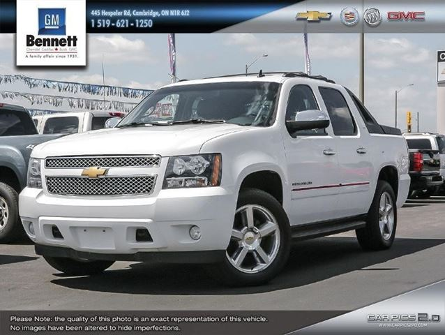 2012 Chevrolet Avalanche Ltz White Bennett Chevrolet Cadillac Buick Gmc Ltd Wheels Ca
