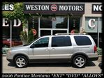 2006 Pontiac Montana SV6 *EXT*DVD*ALLOYS*GREAT SHAPE*CERT & ETESTED* in York, Ontario