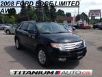 2008 Ford Edge Limited | All Wheel Drive | Pano Roof | Remote Starter | Power Front & Rear Seats | Power Rear Hatch | Back Up Sensors | Fog Lights | Keyless Entry in London, Ontario
