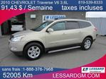 2010 Chevrolet Traverse 1LT in Shawinigan, Quebec