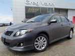 2010 Toyota Corolla Sport w/alloys,rear spoiler,leather wrap steering wheel in Cambridge, Ontario