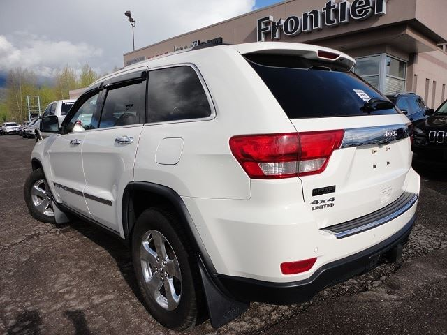 2011 Jeep Grand Cherokee Limited Smithers British