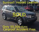 2011 Ford Escape XLT Sunroof Leather  in Hamilton, Ontario