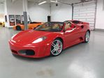 2007 Ferrari F430 F 430 SPYDER 6 SPEED TUBI EXHAUST CARBON FIBER INTERIOR in Toronto, Ontario