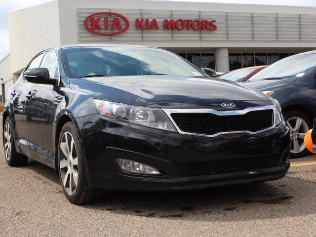 2011 kia optima ex luxury 4dr sedan one owner black. Black Bedroom Furniture Sets. Home Design Ideas