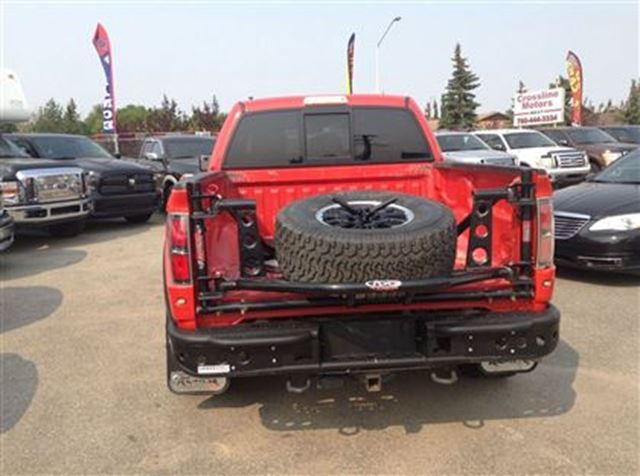 2011 ford f 150 svt raptor custom rims leather edmonton alberta used car for sale 1818743. Black Bedroom Furniture Sets. Home Design Ideas