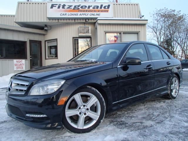 2011 mercedes benz c class c300 black fitzgerald motors for Mercedes benz c300 black rims