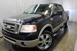2007 Ford F-150 Lariat KING RANCH CREW CAB CUIR NAV DVD in Chateauguay, Quebec