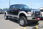 2008 Ford F-350  LARIAT DIESEL NAVIGATION W/ LIFT KIT in Ottawa, Ontario