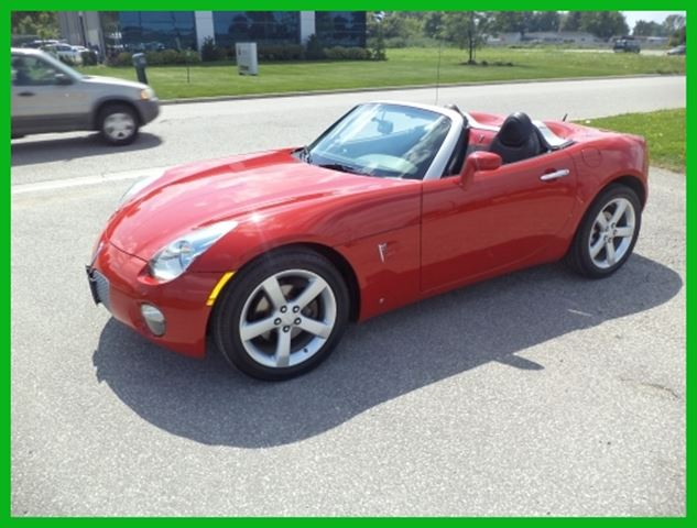 2008 pontiac solstice convertible red hot strickland 39 s. Black Bedroom Furniture Sets. Home Design Ideas