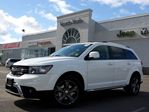 2015 Dodge Journey Crossroad NEW 7-SEATER AWD NAV DVD PKG LEATHER SUNROOF in Thornhill, Ontario