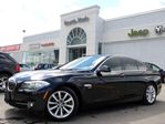 2012 BMW 5 Series XDRIVE NAV LEATHER SUNROOF BACKUP CAM HTD FRT SEATS CONV PKG in Thornhill, Ontario