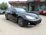 2009 Lexus IS F 98,000 km, Leather, Nav, paddle shift, Auto-Full F in Edmonton, Alberta