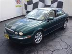 2004 Jaguar X-Type 3.0, Automatic, Navigation, Leather, Sunroof, AWD in Burlington, Ontario