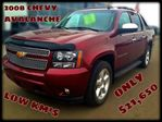 2008 Chevrolet Avalanche 1500 LTZ LEATHER SUNROOF in Olds, Alberta