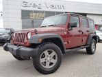 2010 Jeep Wrangler Unlimited Rubicon 4x4 w/hard & soft top,leather,NAV in Cambridge, Ontario