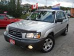 2004 Subaru Forester 2.5X AWD ONLY 147km Beautiful Blue Coming Soon in Cambridge, Ontario