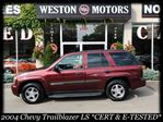2004 Chevrolet TrailBlazer LS*4X4*CERT&ETESTED*FULLY LOADED*A MUST SEE in York, Ontario