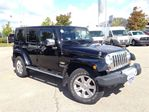 2012 Jeep Wrangler Unlimited ***SAHARA***FACTORY NAVI***U CONNECT HANDSFREE COM in Mississauga, Ontario