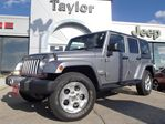 2013 Jeep Wrangler Unlimited Sahara 4x4 6spd w/heated seats,sat radio,alloys in Hamilton, Ontario