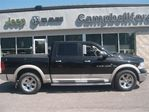 2011 Dodge RAM 1500 LARAMIE CREW CAB 4X4 AIR BOX LINER LEATHER REMO in Campbellford, Ontario