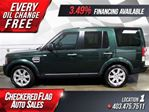 2011 Land Rover LR4 W/ Panaramic Sunroof-Heated Leather-4X4 in Calgary, Alberta
