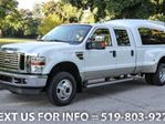 2009 Ford F-350 4WD LARIAT DUALLY! CREW V10!! SUNROOF! LEATHER! 4 in Guelph, Ontario