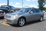 2004 Infiniti G35 LEATHER SUNROOF HEATED SEATS in Ottawa, Ontario
