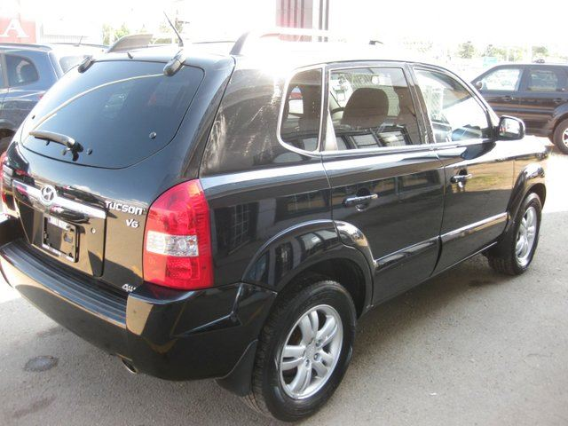 2007 hyundai tucson gls 4dr 4x4 edmonton alberta car for sale 1841731. Black Bedroom Furniture Sets. Home Design Ideas