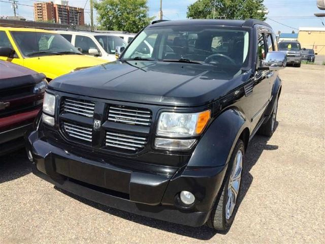 2008 dodge nitro 4wd r t black calgary used car sales. Black Bedroom Furniture Sets. Home Design Ideas