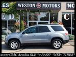 2007 GMC Acadia SLE*7 PASSENGER*NEW TIRES*ACC FREE in York, Ontario