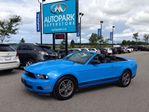 2012 Ford Mustang V6 PREMIUM!! / LEATHER!! / CONVERTIBLE!!! in Innisfil, Ontario