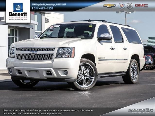 2011 chevrolet suburban ltz white bennett chevrolet. Black Bedroom Furniture Sets. Home Design Ideas
