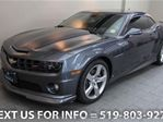 2010 Chevrolet Camaro 2SS COUPE w/ RS PKG! 6-SPD MANUAL! SUNROOF! LEATH in Guelph, Ontario