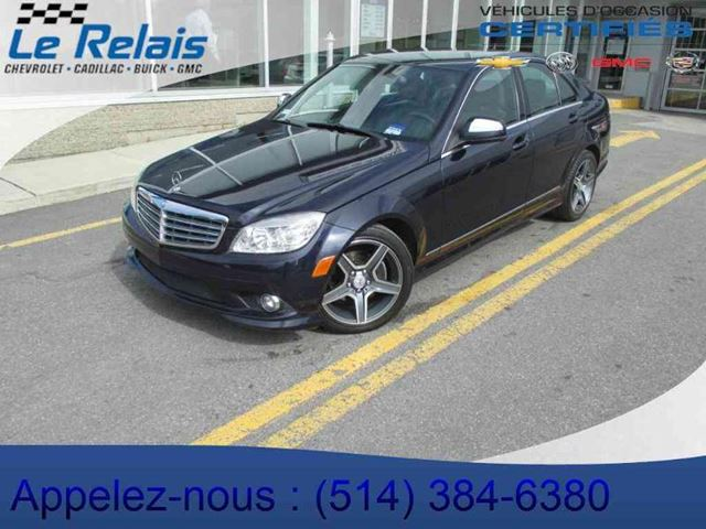 2008 mercedes benz c class c230 4matic blue le relais for Mercedes benz c230 2008