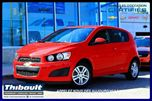 2012 Chevrolet Sonic LS in Sherbrooke, Quebec