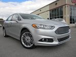 2013 Ford Fusion SE, NAV, LEATHER, ROOF, 21K! in Stittsville, Ontario